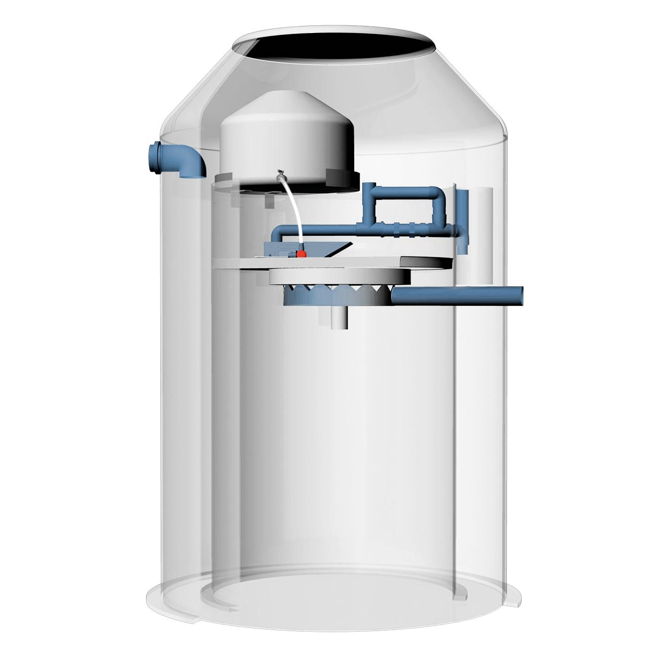 Wallax minirenseanlegg tank